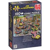Puzzel JvH: De Kermis - Botsauto´s 150 stukjes