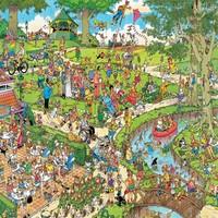 Puzzel JvH The Park 3000 stukjes