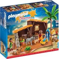Grote kerststal Playmobil