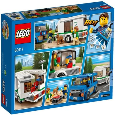LEGO LEGO City 60117 Busje en Caravan
