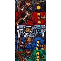 Badlaken Lego Ninjago group: 70x140 cm