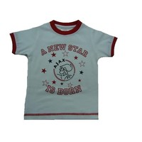 Baby t-shirt ajax wit