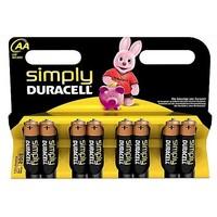 Batterijen Duracell Simply Power MN 1500 AA: 8 stuks