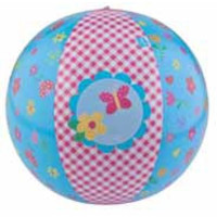 Strandbal Lief roze: 45 cm