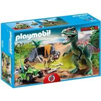 Onderzoeker met dino´s Playmobil