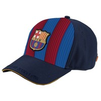 Cap barcelona rood/blauw senior: stripes