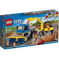 Veeg- en graafmachine Lego