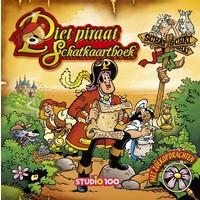Piet Piraat Boek - Schatkaartboek