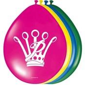 Prinsessia Ballonnen 8 stuks