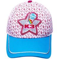 K3 Cap roze/blauw