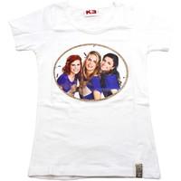 K3 T-shirt wit/goud