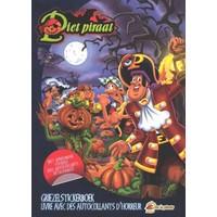 Piet Piraat Stickerboek griezel
