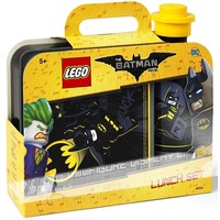 Lunchset Lego Batman Movie: zwart