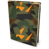 Boekenkaft rekbaar Dresz: Army