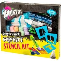 Graffiti Stencil Kit Chalkfiti