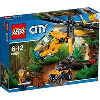 Jungle vrachthelikopter Lego