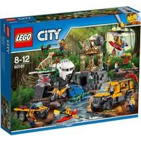 Jungle onderzoekslocatie Lego