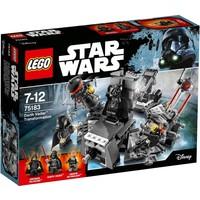 Darth Vader transformatie Lego