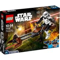 Scout Trooper & speederbike Lego