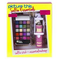 Selfiestick make-up Markwins 20-delig: roze