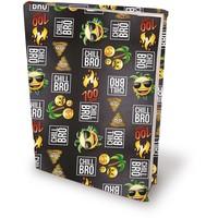 Boekenkaft rekbaar Dresz: Emoji Boys