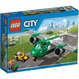 Vliegveld vrachtvliegtuig Lego