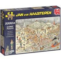 Puzzel JvH: Nieuwjaarsduik 2000 stukjes