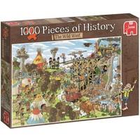 Puzzel Pieces of History: Wild West 1000 stukjes
