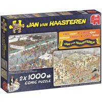 Puzzel JvH: Winter 2x1000 stukjes