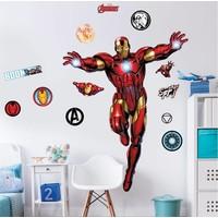 Iron Man Muursticker 122 cm