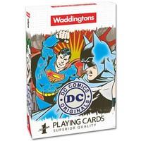 Speelkaarten DC Superheroes Retro