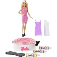 Spin Art en pop Barbie