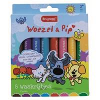 Waskrijtjes Bruynzeel Woezel en Pip: 8 stuks