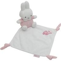 Knuffeldoekje Nijntje roze gebreid
