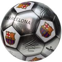 Bal barcelona leer groot zilver handtekeningen SE
