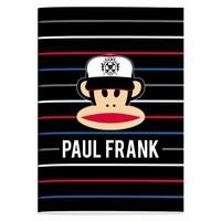 Schrift Paul Frank stripes A4 geruit