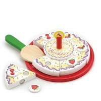 Verjaardagstaart New Classic Toys 23x23x4 cm