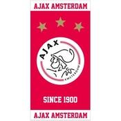 Handdoek ajax rood/wit since 1900: 50x100 cm