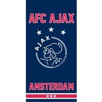 Handdoek ajax blauw since 1900: 50x100 cm