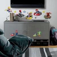 Muursticker Nintendo RoomMates: Mario Kart Wii