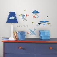 Muursticker RoomMates: Zutano Aviation