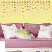 Muursticker RoomMates: Watercolor Heart