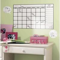 Muursticker RoomMates: Calendar Whiteboard