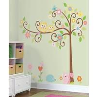 Muursticker RoomMates: Happi Scroll Tree