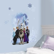 Muursticker Frozen RoomMates: Winter Burst