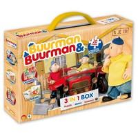 Spel 3 in 1 Buurman en Buurman: o.a. memory/domino