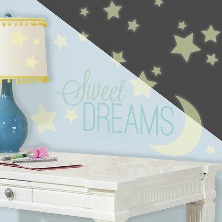 Muursticker Roommates Sweet Dreams Glow Sinqel