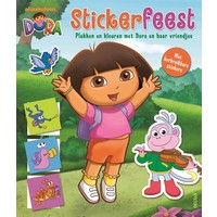 Stickerboek Dora: stickerfeest