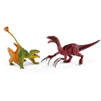 Dimorphodon en Therizinosaure klein Schleich