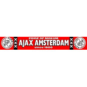 Sjaal ajax rood mokum logo